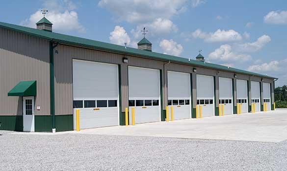 Commercial Garage Doors Zanesville Belmont Oh Cambridge Overhead Door